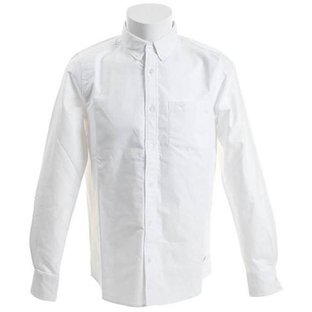 デュアリグ(DUARIG) 【多少の傷汚れありの為大奉仕】ボタンダウンシャツ 860D7SE3197 WHT (Men's)