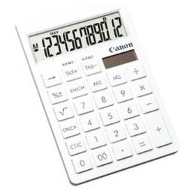 Canon 電卓/SI-1200T ホワイト/中型卓上サイズ