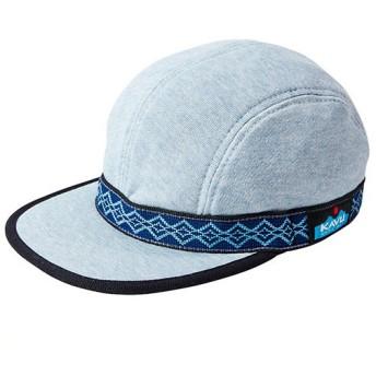 カブー KAVU Kids ストラップキャップFL Blueモク キッズ用 子供用 キャップ 帽子 19820431032000