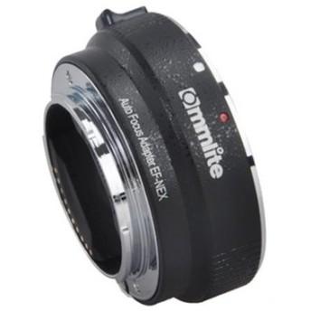 《新品アクセサリー》 Commlite(コムライト) マウントアダプター キヤノンEFソニーE用 AF対応 電子接点付 CM-EF-NEX B ブラック