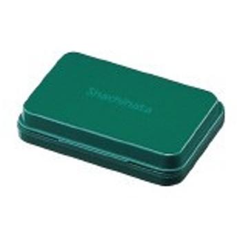 シヤチハタ シヤチハタ スタンプ台 小形 緑 盤面サイズ:40×63mm 油性顔料系 HGN-1-G