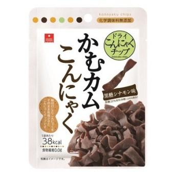 アスザックフーズ かむカムこんにゃく黒糖シナモン味 10g (ゆうパケット配送対象)