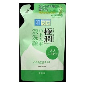 ロート製薬 【肌研(ハダラボ)】極潤ハトムギ泡洗顔 つめかえ用(140ml)