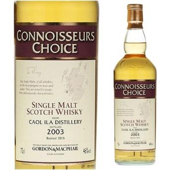 ウイスキー カリラ2003 ゴードン&マクファイル コニサーズチョイス(G&M) 46° ウィスキー whisky