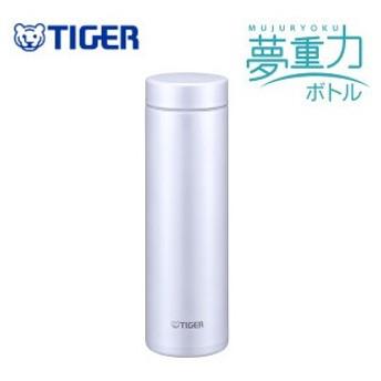 MMZ-A501WS ステンレスボトル おしゃれ 500mL タイガー サハラマグ 軽量 夢重力ボトル ステンレスミニボトル マグボトル 水筒 アイスホワイト MMZ-A501-WS