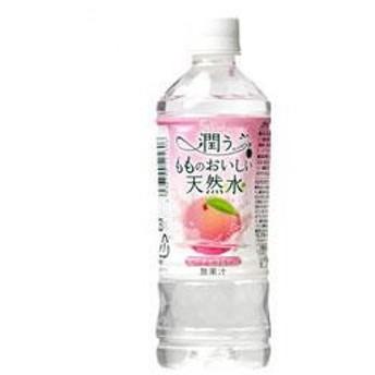 フェリーチェ 潤うもものおいしい天然水 500mlペットボトル 24本入 (富永貿易)