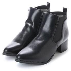ミオ ノティス mio notis 45mmアーモンドトウショートブーツ (ブラック)