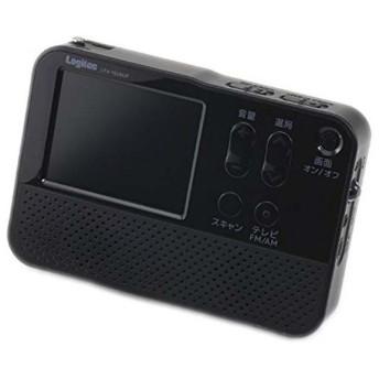 ワンセグテレビ付きAM/FMラジオ LTV-1S280P エレコム (代引不可)(TD)