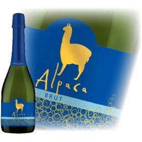サンタ・ヘレナ アルパカ スパークリング・ブリュット 750ml チリ スパークリングワイン