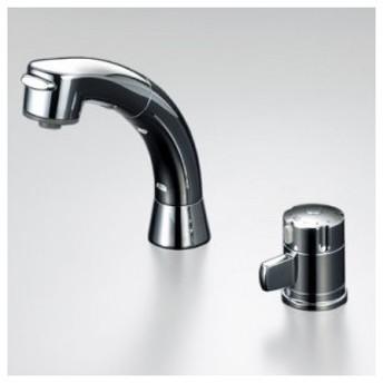 KVK ケーブイケー サーモスタット式洗髪シャワー シャワー引出し式 泡沫吐水 KF125シリーズ KF125G2N