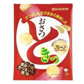 4箱まで1個口 UHA味覚糖 おさつどきっ プレーン味 65g×10個 ケース販売 [送料無料対象外]