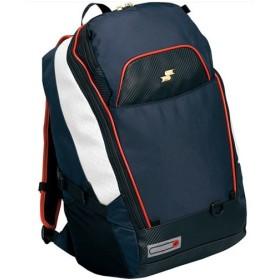 エスエスケイ(SSK) バッグパック SSK-BA150 7020/ネイビー×レッド 野球 リュックサック