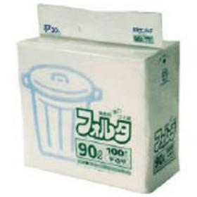 SANIPAK/日本サニパック  F−9H環優包装フォルタ90L白半透明/F-9H-HCL