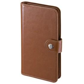 サンワサプライ 手帳型スマートフォンケース Mサイズ PDA-SPC30BR 代引不可