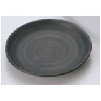 MIN/マイン メラミンウェア 黒/丸皿Φ13M11−128