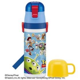 軽量2WAYステンレスボトル トイストーリー SKDC4 水筒 子供 こども ステンレス おしゃれ 直飲み コップ キャラクター