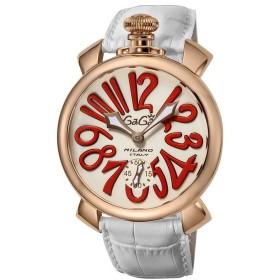 GaGaMILAN ガガミラノ 5011.10S-WHT ブランド 時計 腕時計 メンズ 誕生日 プレゼント ギフト カップル 代引不可