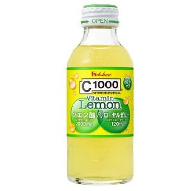 ハウスウェルネス C1000ビタミンレモン クエン酸&ローヤルゼリー 140ml瓶 30本入