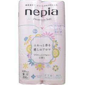 ネピア プレミアムソフト フラワーシンフォニーの香り トイレットペーパー ダブル 25m 12ロール