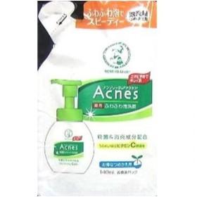 ロート製薬 アクネス 薬用ふわふわな泡洗顔 詰め替え 140ML 泡洗顔料 (医薬部外品)