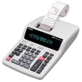 カシオ計算機 プリンター電卓 加算機方式 グリーン表示 14桁 DR-240TM
