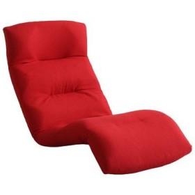 ホームテイスト SH-07-MOL-D-RD 日本製リクライニング座椅子14段階調節ギア、転倒防止機能付き Moln-モルン- Down type (レッド) (SH07MOLDRD)