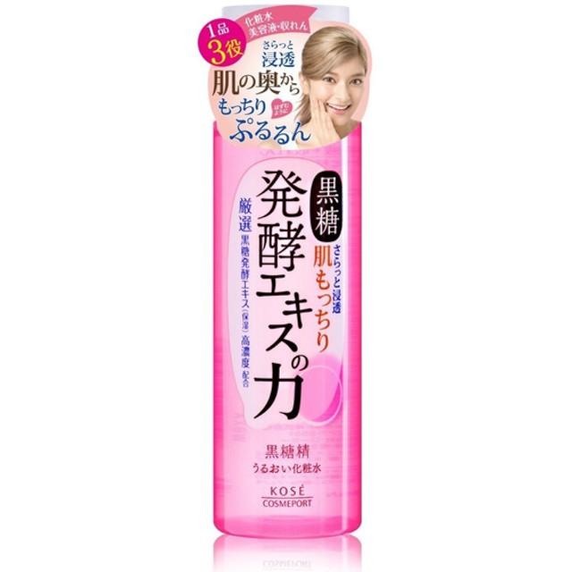 黒糖精 うるおい化粧水 180ml