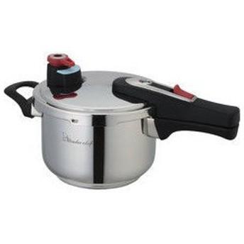 Wonder chef/ワンダーシェフ  エリユム片手圧力鍋(18cm・3l)/630285