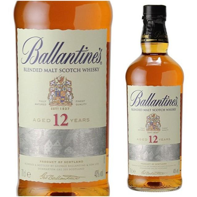 ウイスキー バランタイン 12年 ピュアモルト ブレンデッドモルト 700ml ウィスキー whisky