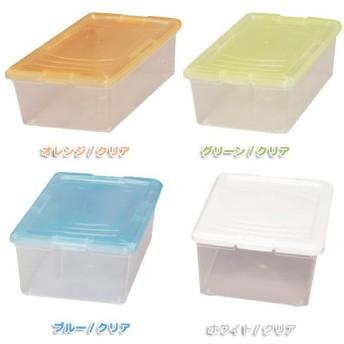 小物収納ケース ストックケース Sサイズ OCA-S ホワイト クリア アイリスオーヤマ 収納ボックス クリアケース プラスチック チェスト 引き出し