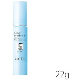 [メール便対応商品] アクセーヌ マイルドサンシールド  SPF28・PA++ 22g [日やけ止め保湿ベースクリーム](TN019-2)