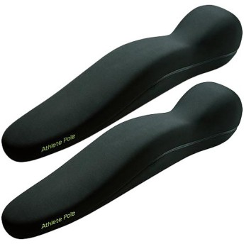 エムティージー(MTG) スタイルアスリートポール Style Athlete Pole ブラック 2個セット BS-AP2027F E1021ST-N ストレッチ ダイエット フィットネス 美姿勢