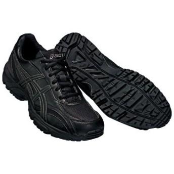 アシックス ウォーキングシューズ GEL-NEBRASKA WM ゲルネブラスカ TDH129 カラー:ブラック×ブラック 9090