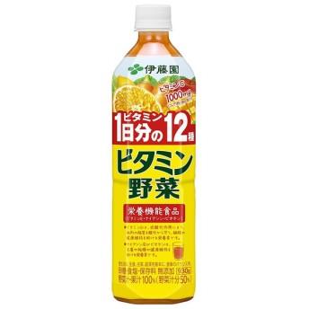 伊藤園 ビタミン野菜 930g×1ケース/12本(012)