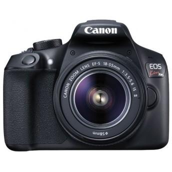 キヤノン <EOS Kiss>Canon デジタル一眼レフカメラ EOS Kiss X80(W)・18-55IS II(1800万画素/ブラック)[1158C002] EOSKISSX801855IS2LK 代引不可