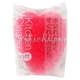 キッチンクリーナー ソフト ピンク 1個