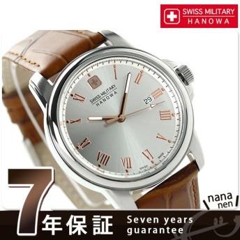 31日まで!さらに+24倍でポイント最大34倍 スイスミリタリー ローマン メンズ ML-381 腕時計