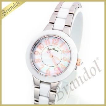 エンジェルハート Angel Heart レディース腕時計 ラブスポーツ セラミック コンビベルト 27mm ホワイト×シルバー WL27C