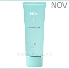 ノエビア NOVノブ II ウォッシングクリーム 110g[洗顔料](TN077-4)