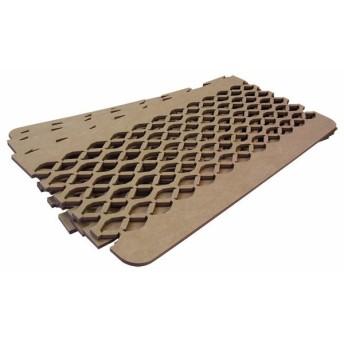 除湿マット シングル すのこ型 TEIJIN テイジン すのこ型吸湿マット ダブルインパクト PLUS ベージュ TJI-480 (D) (B)(あすつく)
