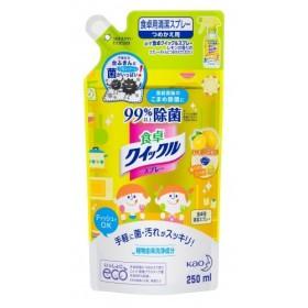 食卓クイックル スプレー レモンの香り つめかえ用 250ml