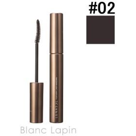 ルナソル LUNASOL フェザリーラッシュマスカラ #02 Brownish Black 6g [282328]【メール便可】