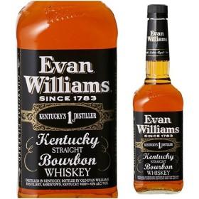 ウイスキー エヴァンウィリアムス ブラックラベル(黒) 750ml ウイリアムズ  ウィスキー バーボン whisky