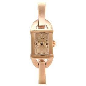 【5/19限定 エントリーでP15】 グッチ GUCCI 時計 腕時計 グッチ 時計 レディース GUCCI 6800シリーズ YA068585 腕時計 ウォッチ コパー/ピンクゴールド