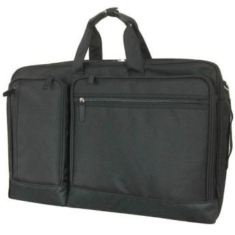 キャプテンスタッグ(CAPTAIN STAG) P1680D ハンガー付 ビジネスバッグ ブラック 01223 通勤通学 鞄 カジュアル バック