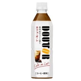 アサヒ飲料 ドトール カフェ・オ・レ 500mlペットボトル 24本入 (DOUTOR カフェオレ)