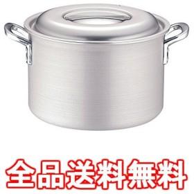 TKG IHアルミ 半寸胴鍋(目盛付) 39cm ※ IH対応 IH (100V/200V)とガス火対応 AHVF506