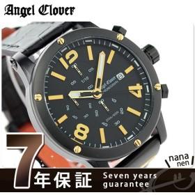 エンジェルクローバー エクスベンチャー クロノグラフ EVC46BBK-BK メンズ 腕時計