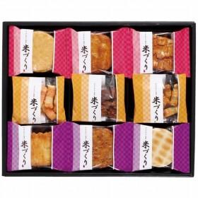 亀田製菓 あられ・おせんべい詰合せ 米づくり15 代引不可 お歳暮
