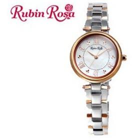 Rubin Rosa/ルビンローザ  R021SOLTWH 【ルビンローザ ソーラー腕時計】【LADYS/レディース】